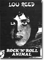 LOU REED - ROCK 'N' ROLL ANIMAL